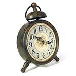 Relógio de Mesa Ferrugem Oldway - 17x14cm