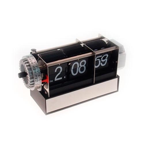 Relógio de Mesa Flip Quadrado - 21x17 cm