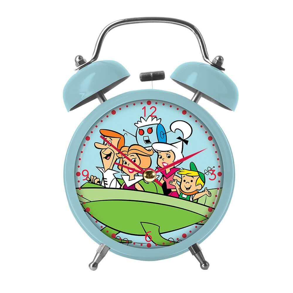 Relógio de Mesa HB The Jetsons Family In a Shipspac em Metal - Urban - 16x11,5 cm