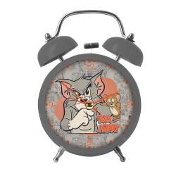 Relógio de Mesa HB Tom And Jerry Mad Cat And Mouse em Metal R$ 109,80 R$ 73,80 1x de R$ 66,42 sem juros