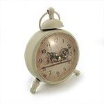 Relógio de Mesa Home Branco Oldway