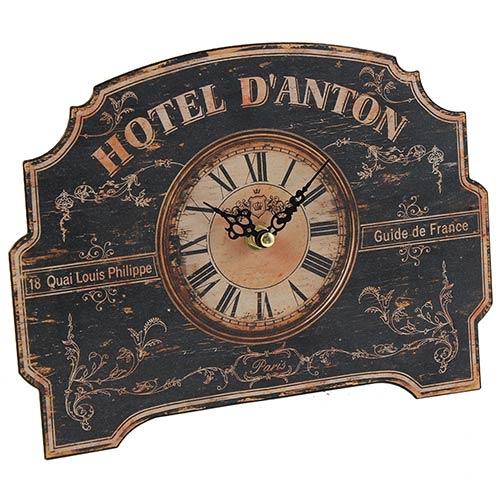 Relógio de Mesa Hotel D Anton Oldway - 25x18x4cm