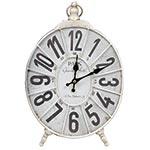 Relógio de Mesa Paris Branco Oldway