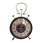 Relógio de Mesa Pequeno Vintage em Ferro Oldway - 23x17 cm