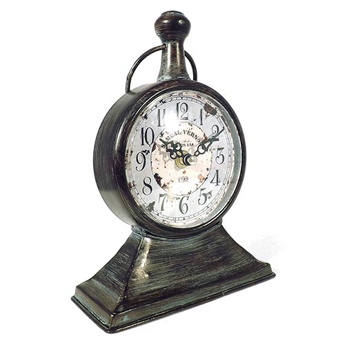 Relógio de Mesa Samuel Vernon 1789 Oldway - 22x16cm