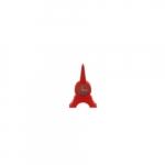 Relógio de Mesa Torre Eiffel Vermelho em Silicone - 121x8 cm