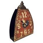 Relógio de Mesa Vermelho Galo Oldway