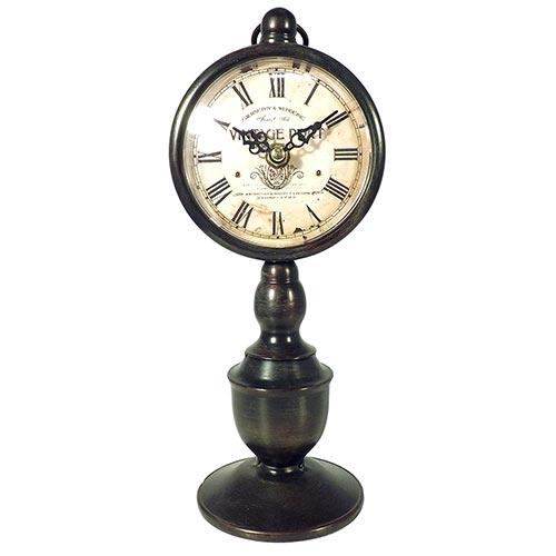 Relógio de Mesa Vintage Port Oldway - 27x12cm