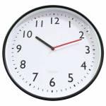Relógio de Parede All Clean Numbers Preto - Urban - 37,8 cm