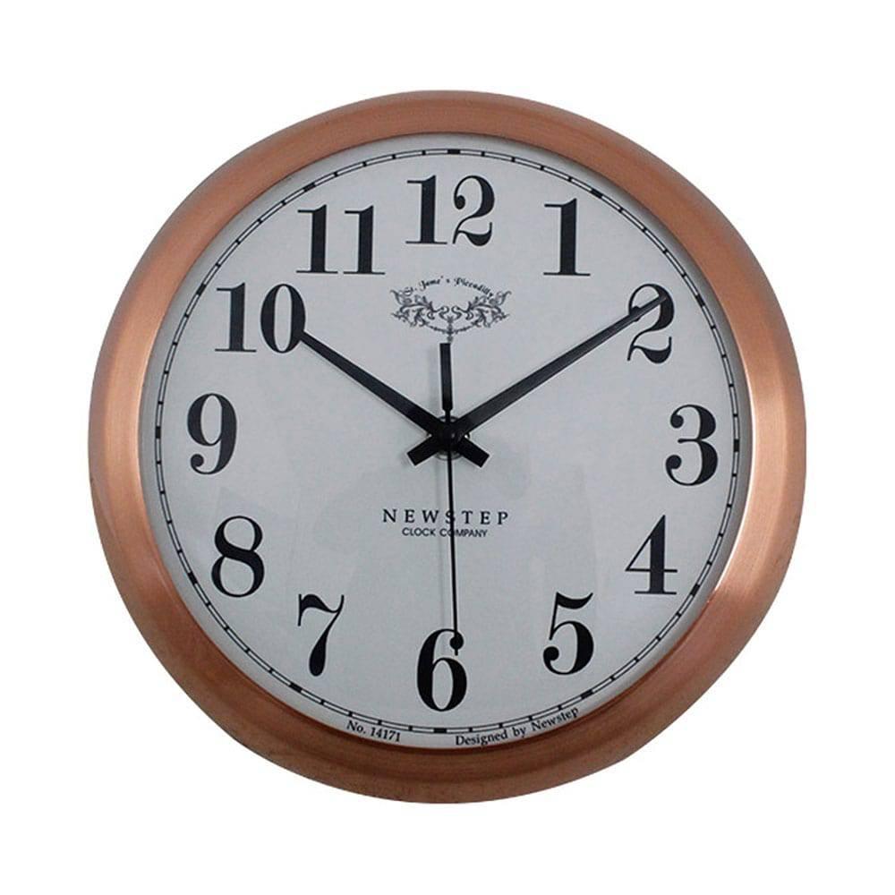Relógio de Parede Anne Rose Goldway - 24x8 cm