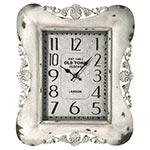 Relógio de Parede Arabescos Old Town Branco Oldway