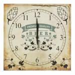 Relógio de Parede Beer em Madeira MDF - 30 cm