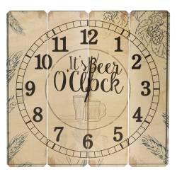 Relógio de Parede Beer Oclock em Madeira MDF - 40 cm R$ 179,99 R$ 119,99 2x de R$ 60,00 sem juros