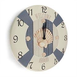 Relógio de Parede Bóia e Conchas R$ 139,95 R$ 93,95 1x de R$ 84,56 sem juros