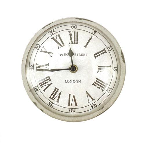 Relógio de Parede Bond Street London - Em Metal / Vidro - 17 cm