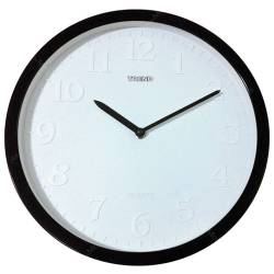 Relógio de Parede Bordas Neon Preto - Urban - 31 cm