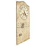 Relógio de Parede Calendário Flowers Oldway