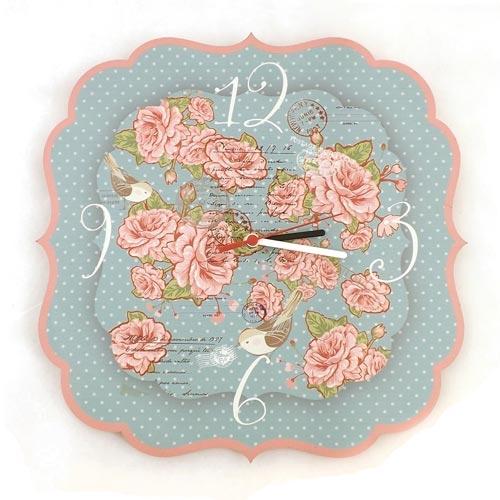 Relógio de Parede Cartas para Mary Carpe Diem - 35x35cm
