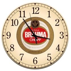 Relógio de Parede Cerveja Brahma Chopp Bege em MDF - 28 cm R$ 129,95 R$ 93,95 1x de R$ 84,56 sem juros