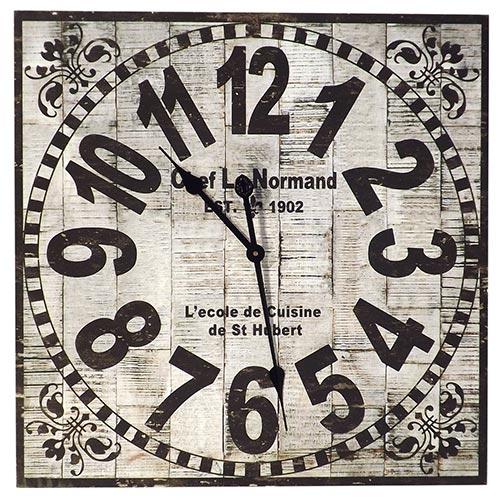 Relógio de Parede Chef Le Normand Oldway - 60x60 cm