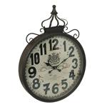 Relógio de Parede Coroa em Ferro