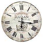 Relógio de Parede Cuisine Maman Oldway