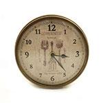 Relógio de Parede Curvo