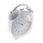 Relógio de Parede Decorativo Branco