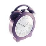 Relógio de Parede Decorativo Roxo - 32x28 cm