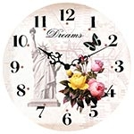 Relógio de Parede Dreams Romantic Feeling Collection