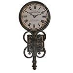 Relógio de Parede Estação Chateau La Fayette - Oldway