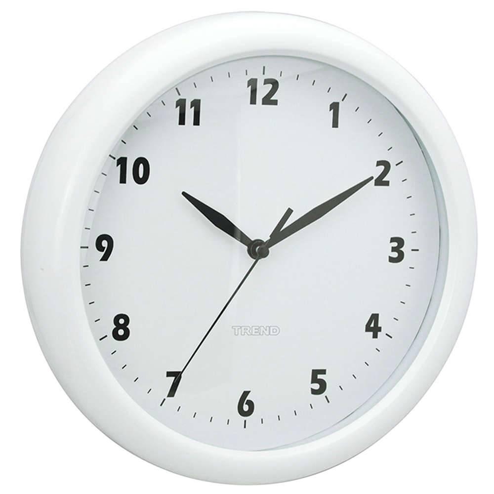 8d55d7d1e62 Relógio de Parede Fat Edges Branco - Urban - 24 cm - Compre Relógios ...