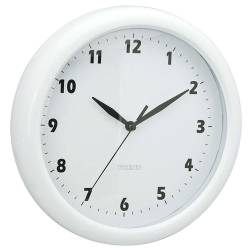 Relógio de Parede Fat Edges Branco - Urban - 24 cm