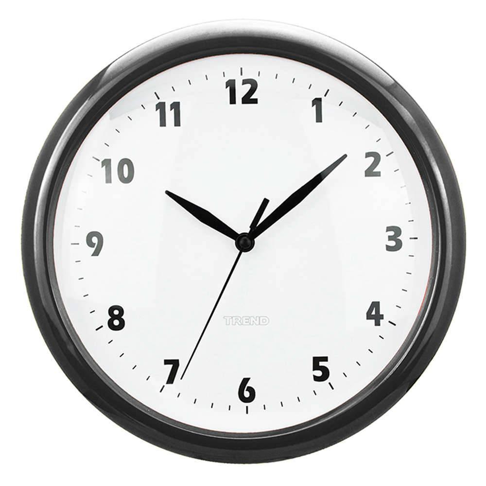 Relógio de Parede Fat Edges Preto - Urban - 24 cm