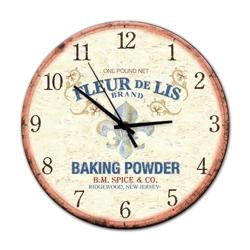 Relógio de Parede Flor de Lis em Madeira MDF R$ 129,95 R$ 93,95 1x de R$ 84,56 sem juros