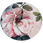 Relógio de Parede Flor Magnolia em Madeira MDF - 28 cm