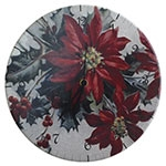 Relógio de Parede Flor de Natal