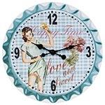 Relógio de Parede Happy Time Fullway - 50x50 cm