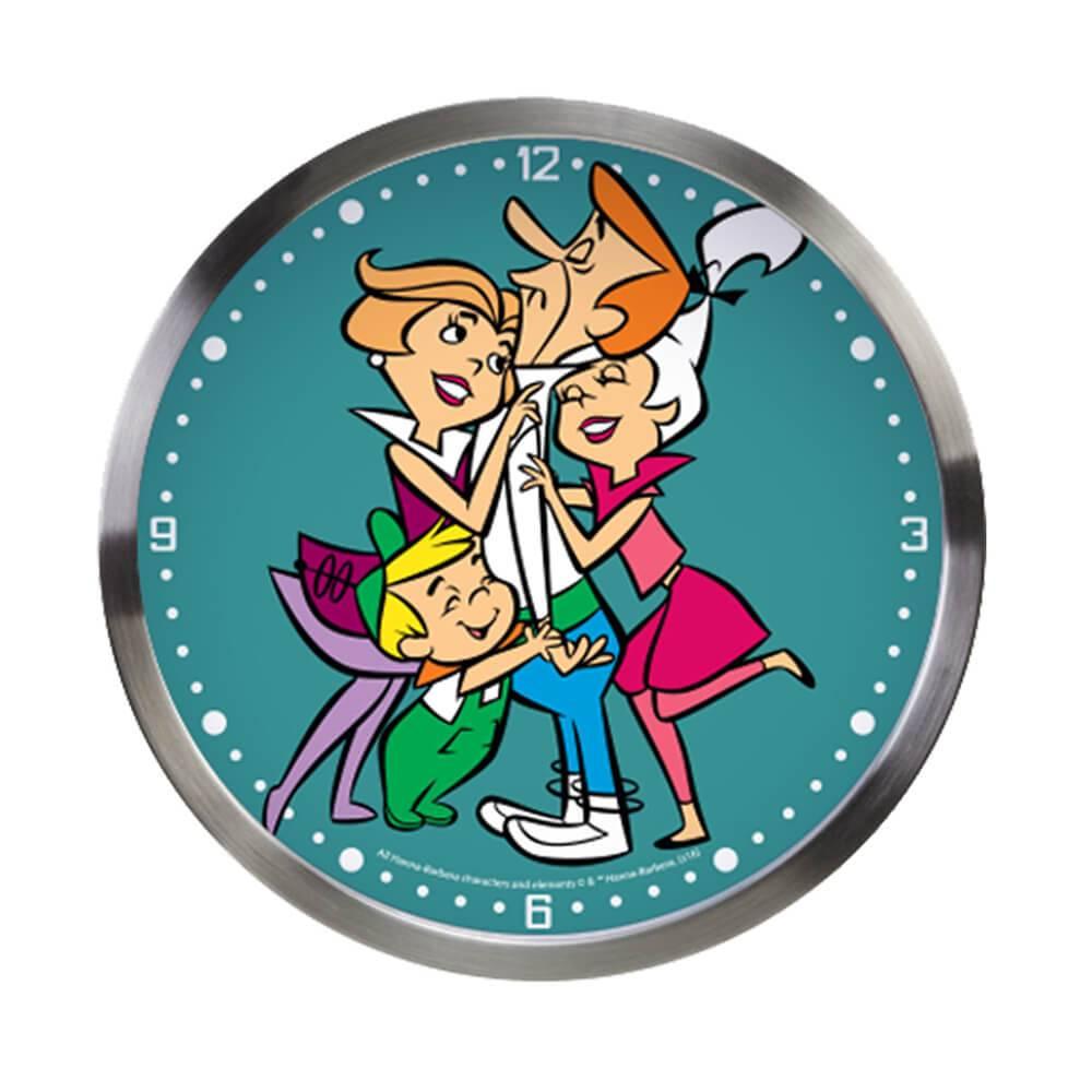 Relógio de Parede HB The Jetsons Geoge Receiving Love - Urban - 30x4,2 cm