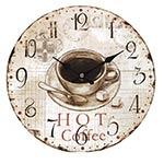 Relógio de Parede Hot Coffee