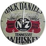 Relógio de Parede Jack Daniels Tennessee Whisky em Madeira MDF - 28 cm