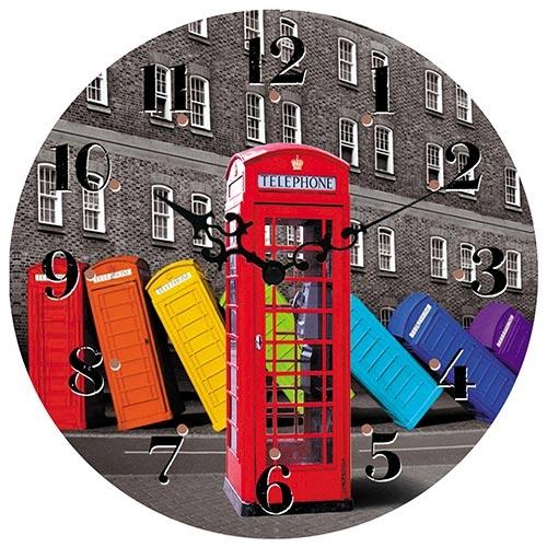 Relógio de Parede London Collection Vell Chic - 40cm