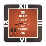 Relógio de Parede London Forever Keep Calm