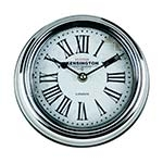 Relógio de Parede London Silver em Metal - 20x20 cm