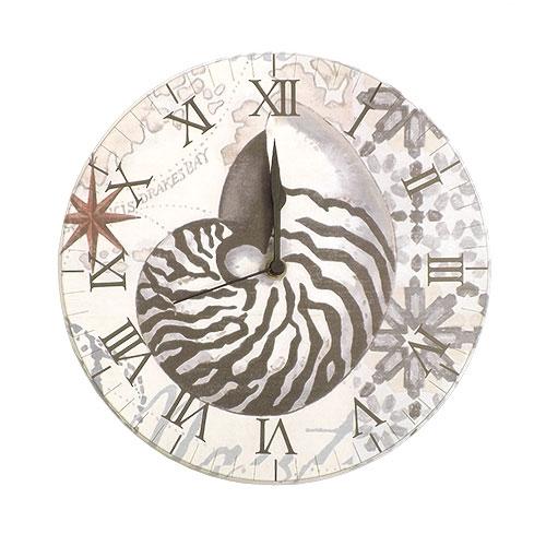 Relógio de Parede Mar Português 28cm em MDF 6mm