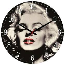 Relógio de Parede Marilyn Monroe em MDF - 28 cm R$ 129,95 R$ 93,95 1x de R$ 84,56 sem juros