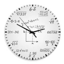 Relógio de Parede Matemática R$ 139,95 R$ 93,95 1x de R$ 84,56 sem juros