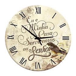 Relógio de Parede Oração
