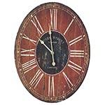 Relógio de Parede Oval Top Queen Street