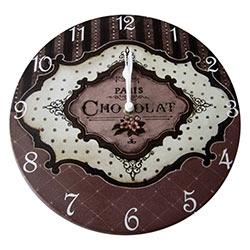 Relógio de Parede Paris Chocolat R$ 139,95 R$ 93,95 1x de R$ 84,56 sem juros